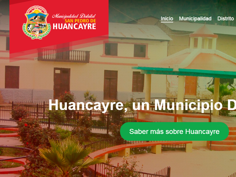 Municipalidad Huancayre